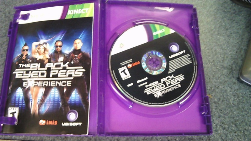 XBOX360 THE BLACK EYED PEAS EXPERIENCE GAME