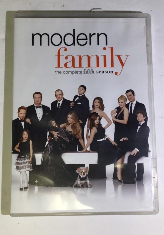 DVD BOX SET MODERN COMPLETE FAMILY FIFTH SEASON