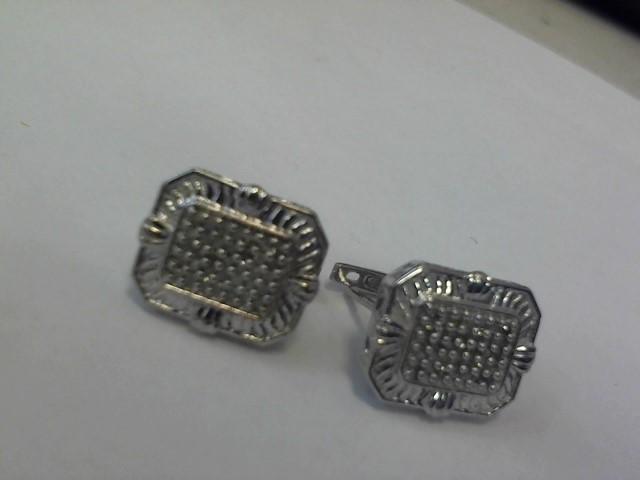 Earrings Silver Stainless 3.7dwt