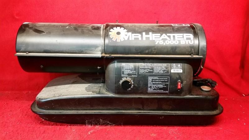 Mr. Heater F270270 MH75KTR Contractor 75,000-BTU Forced-Air Kerosene Heater