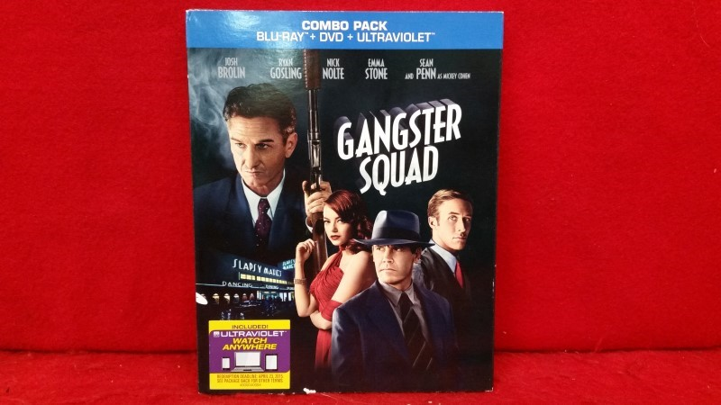 Gangster Squad (Blu-ray/DVD, 2013, 2-Disc Set)