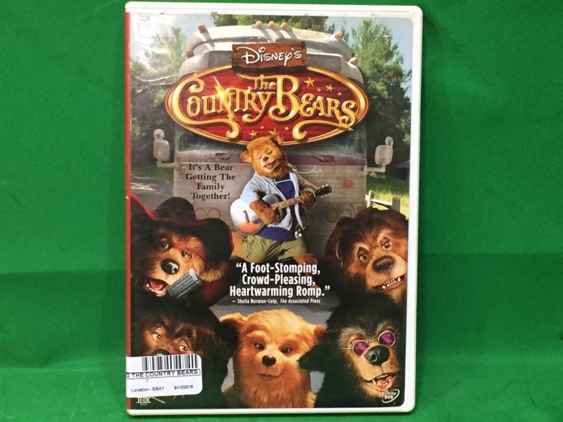 Disney's The Country Bears (DVD, 2002)