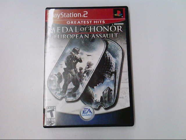 PS2 MEDAL OF HONOR: EUROPEAN ASSAULT
