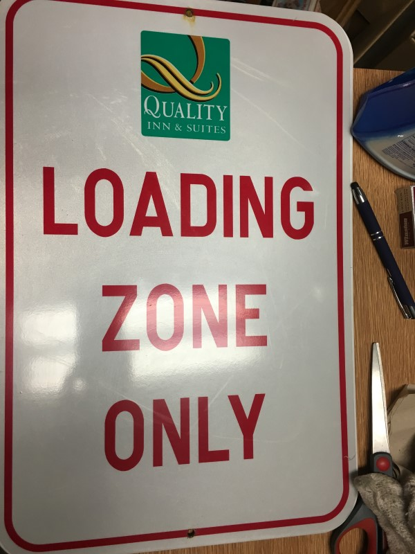 LOADING ZONE ONLY