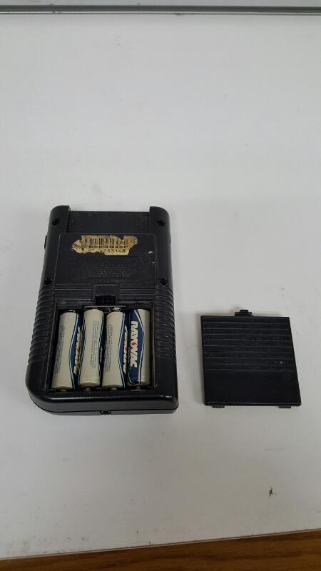 1989 Nintendo Game Boy Console (DMG-01, Black / Purple)
