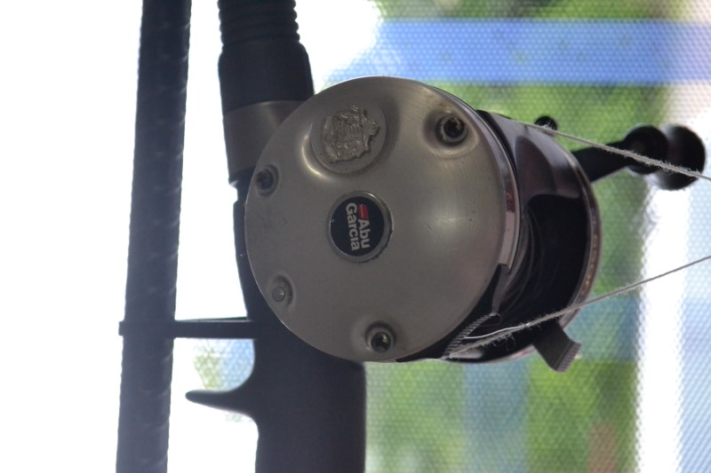 ABU GARCIA REEL WITH UGLY STIK ROD