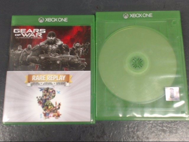 MICROSOFT Microsoft XBOX One Game GEARS OF WAR ULTIMATE EDITION/ RARE REPLAY