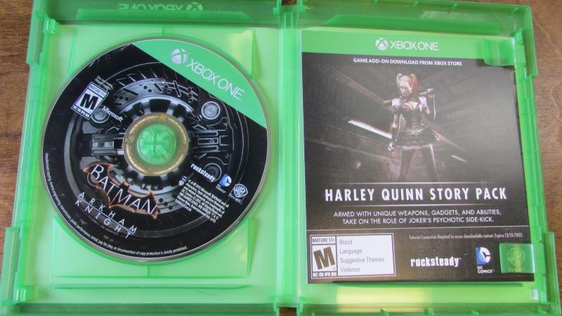 MICROSOFT Microsoft XBOX One Game BATMAN ARKHAM KNIGHT X BOX ONE