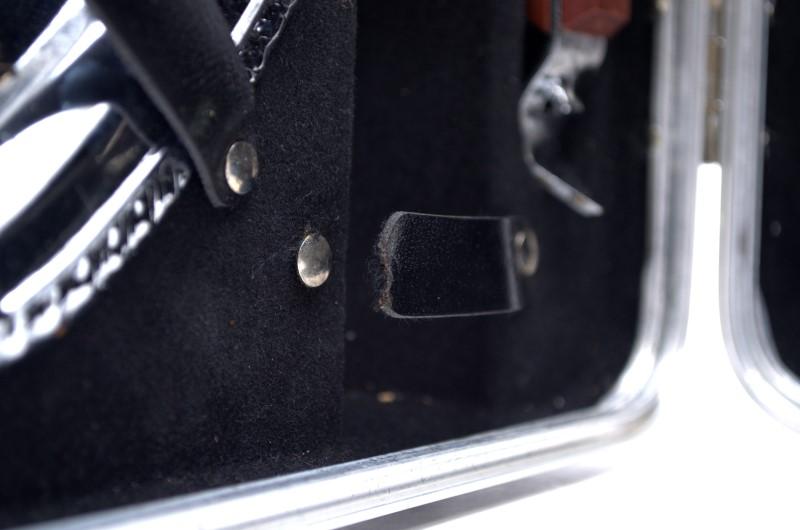 Vintage Collins Bros Portable Bar Set in Hard Travel Case *
