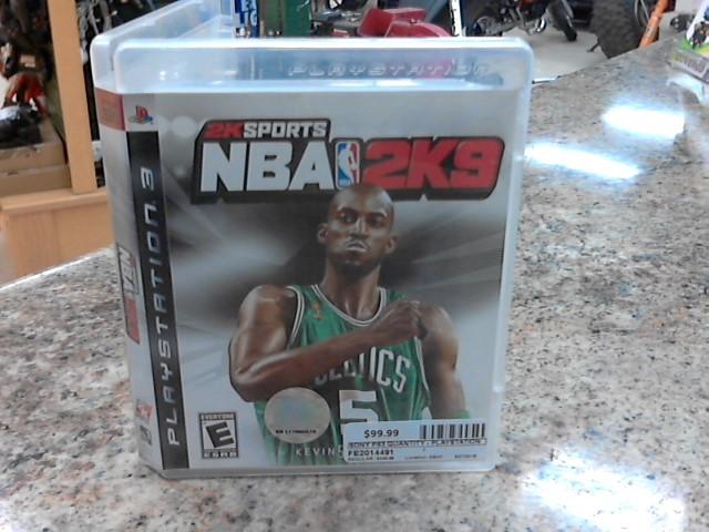 SONY Sony PlayStation 2 Game NBA 2K9