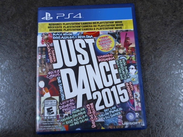 SONY Sony PlayStation 4 Game JUST DANCE 2015 PS4