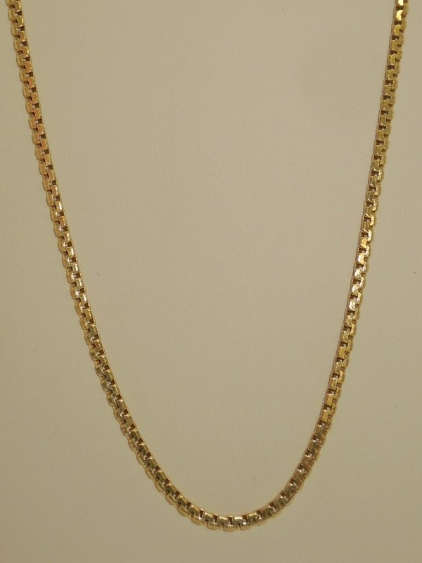 Gold Fashion Chain 14K Yellow Gold 9.4g