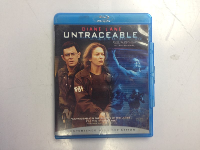 Untraceable (Blu-ray Disc, 2008)