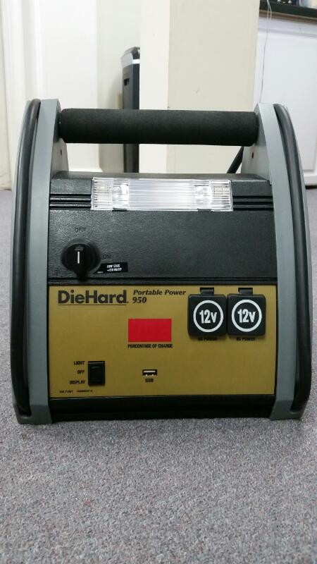 DIEHARD PORTABLE POWER 950 12V DC POWER USB