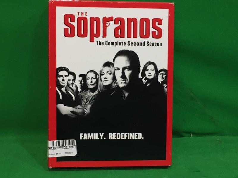 The Sopranos - The Complete Second Season DVD, 2001, 4-Disc Set