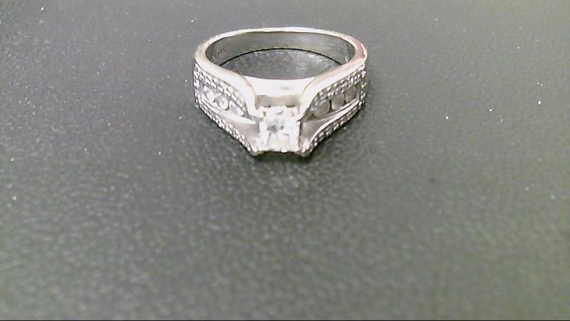 Lady's Diamond Wedding Band 54 Diamonds 1.39 Carat T.W. 14K White Gold 7g