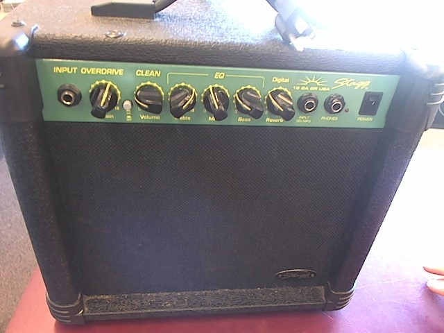 STAGG MUSIC Electric Guitar Amp 15 GA DR