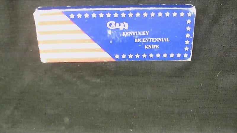 "3"" Case Ky Bicentennial Pocket Knife"