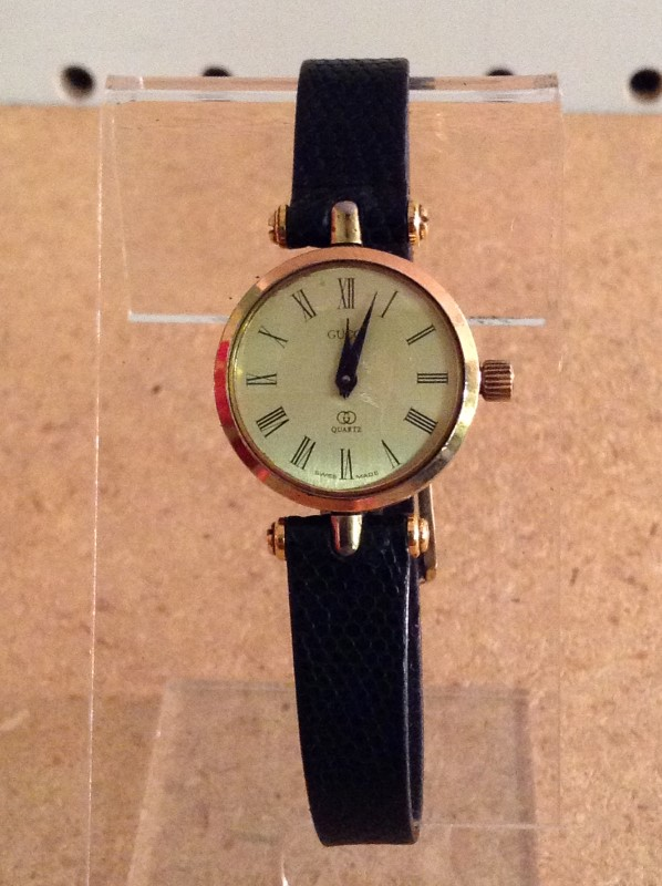 GUCCI Lady's Wristwatch GOLD PLATED WATCH