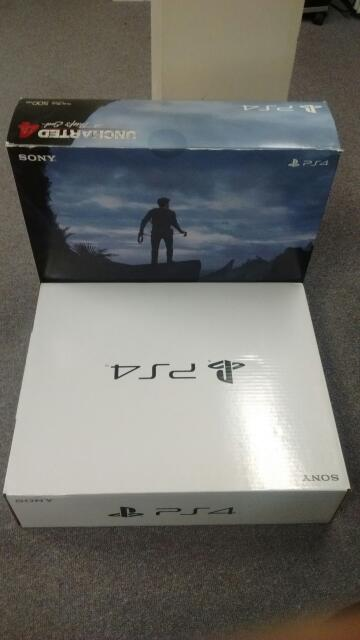 Sony Playstation 4 500GB PS4 Uncharted 4: A Thiefs End Limited Edition Bundle