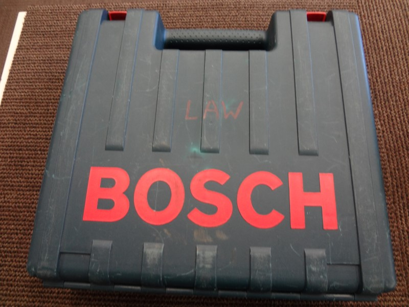 BOSCH PR20EVS 1.0 HP PALM GRIP FIXED-BASE VARIABLE-SPEED ROUTER W/ GUIDE & CASE