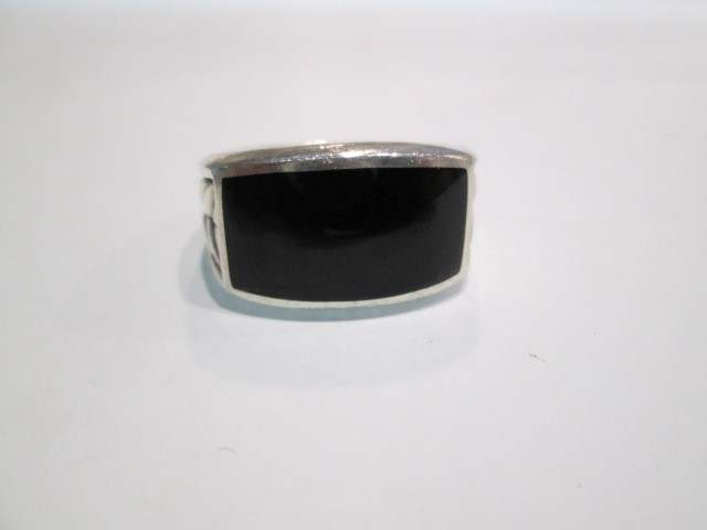 Gent's Silver Ring 925 Silver 10.2dwt SZ9