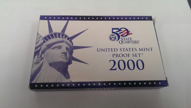UNITED STATES 2000 MINT PROOF SET