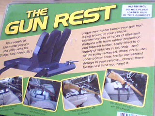 THE GUN REST, DEBSEN PRODUCTS CO.