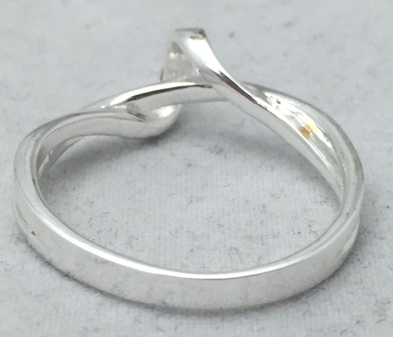 Lady's Sterling Silver Ring