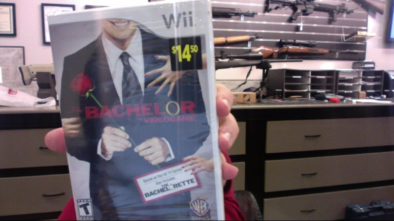 NINTENDO Nintendo Wii Game THE BACHELOR THE VIDEOGAME