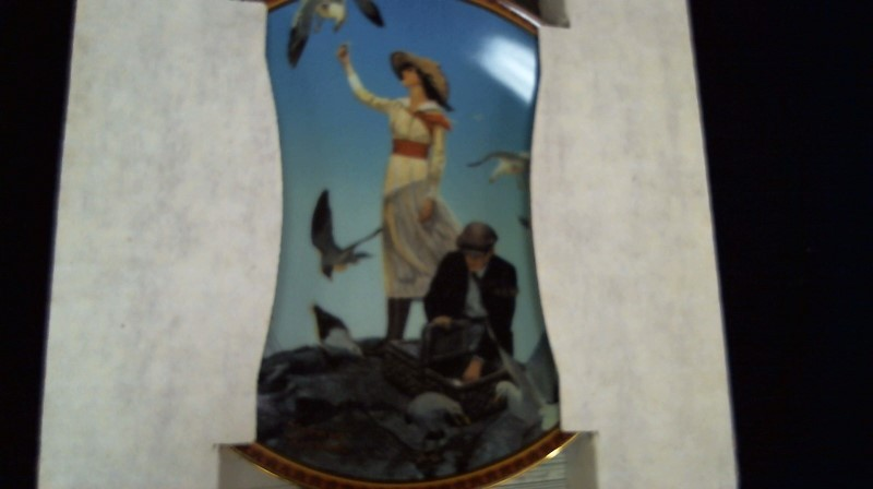 EDWIN KNOWLES CHINA CO Collectible Plate/Figurine NORMAN ROCKWELL PLATE