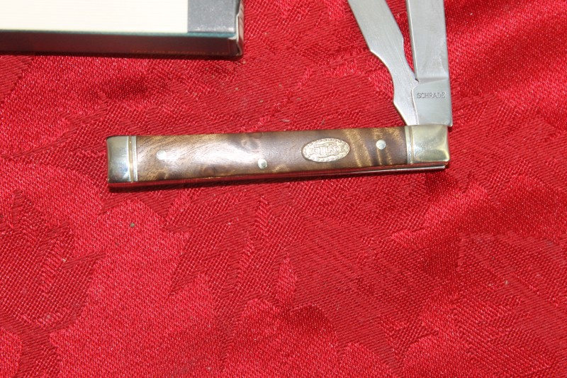 Schrade Uncle Henry 2 Blade Pocket Knife