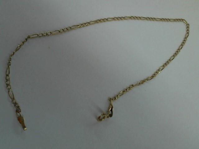 Gold Fashion Bracelet 10K Yellow Gold 1.6g
