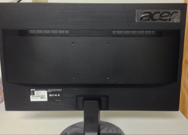 "Acer KN242HYL Black 23.8"" HDMI Widescreen LED Monitor"