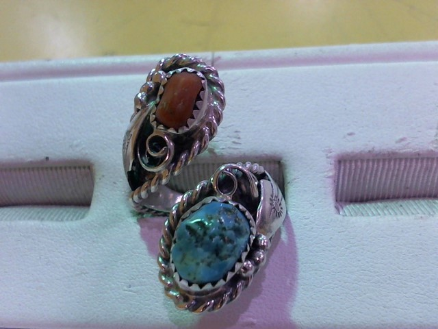 Lady's Silver Ring 925 Silver 9g