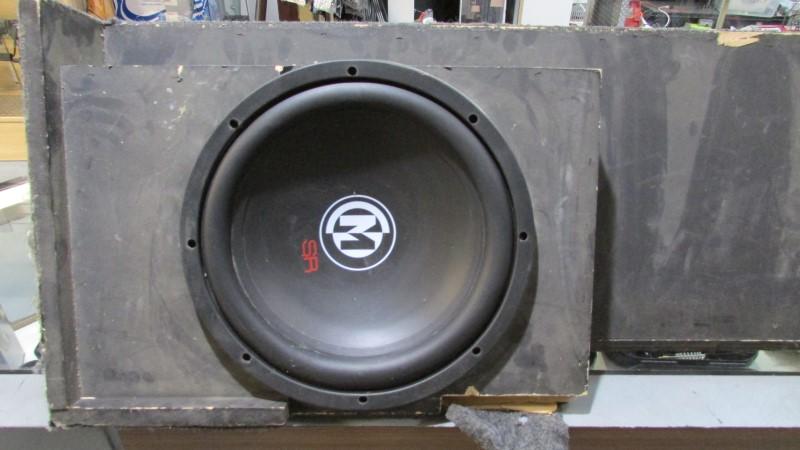 """MEMPHIS AUDIO Speakers/Subwoofer SR 2X 12"""""""