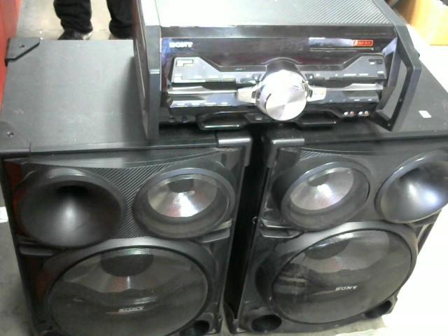 SONY CD Player & Recorder HCD-SH2000
