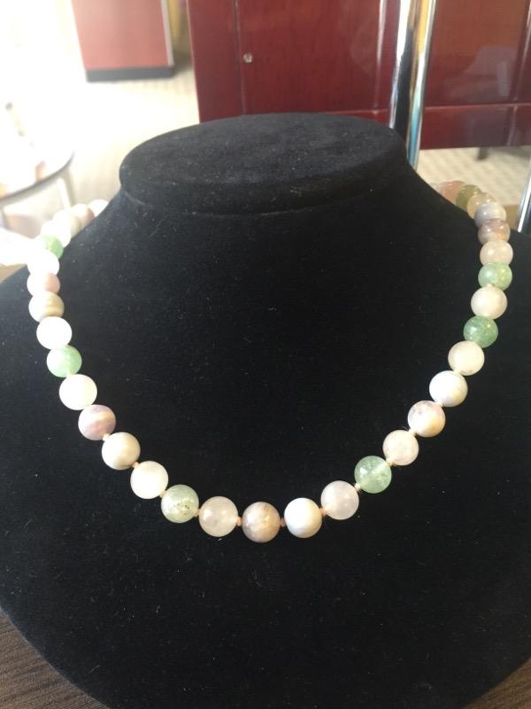 "32"" Jade Stone Necklace 100g"