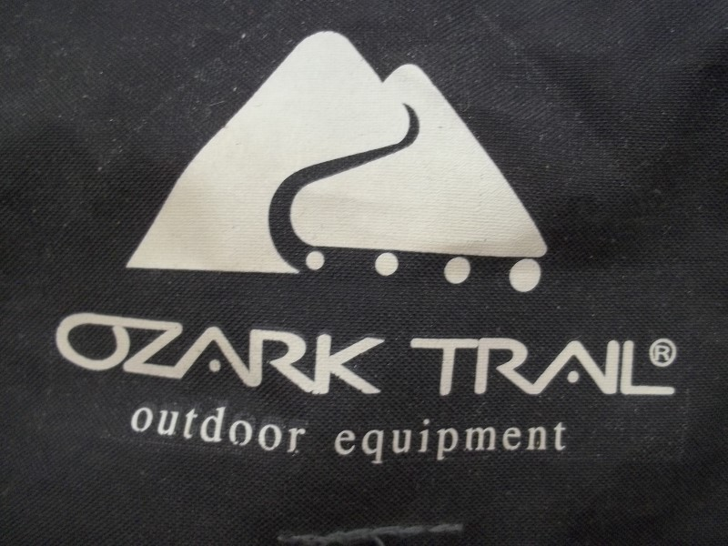 OZARK TRAIL 9' X 8' DOME TENT WITH POLES AND CARRYING CASE