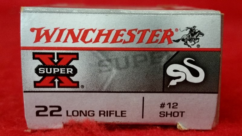 Winchester 22lr #12 Shot - 50rd Box