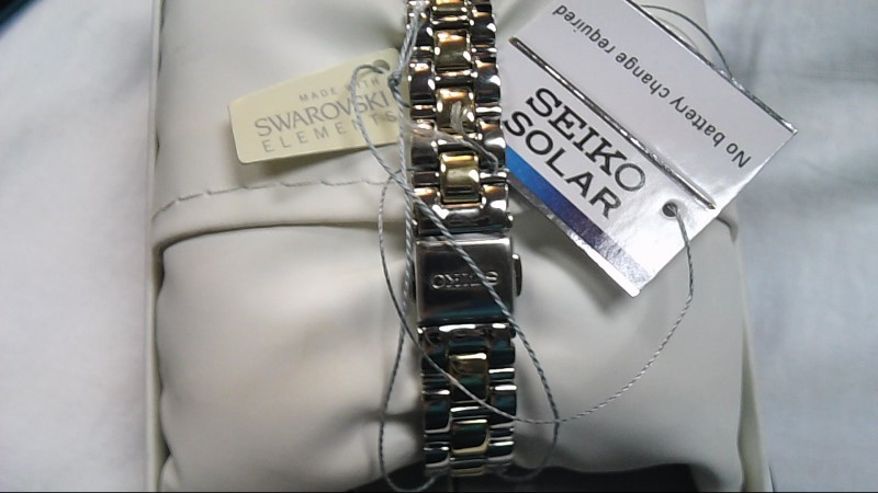 SEIKO Solar Lady's Wristwatch in Box w/ Tags