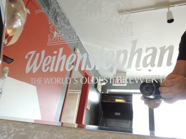 """Weihenstephan """"Worlds Oldest Brewery"""" Bar Mirror"""