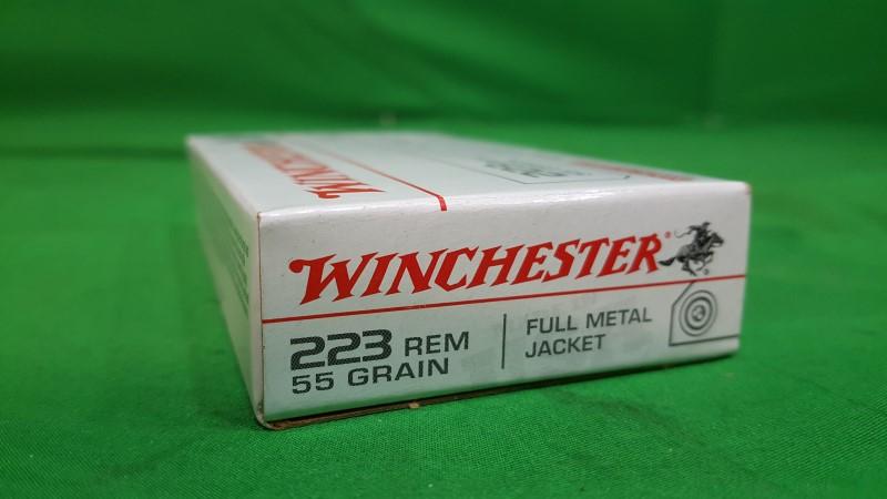 WINCHESTER Ammunition .223 REM 55 GR FMJ
