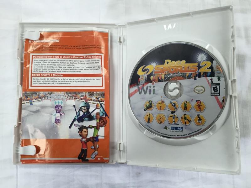 Deca Sports 2 - Nintendo Wii, Konami