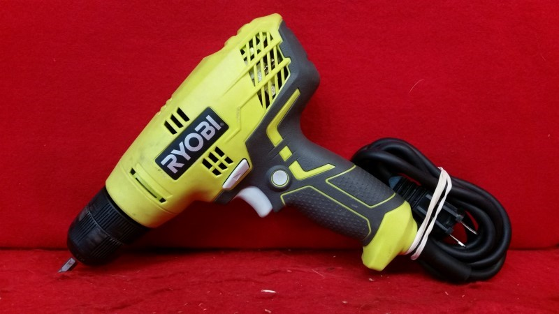 Ryobi 5.5-Amp 3/8 inch Variable Speed Corded Drill Driver
