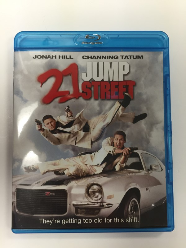 21 JUMP STREET BLU-RAY