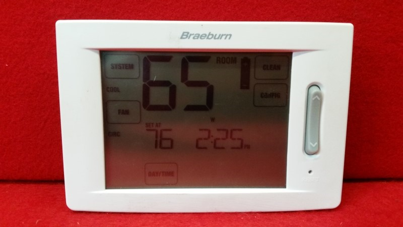 Braeburn Universal Touchscreen Model 6300 Thermostat
