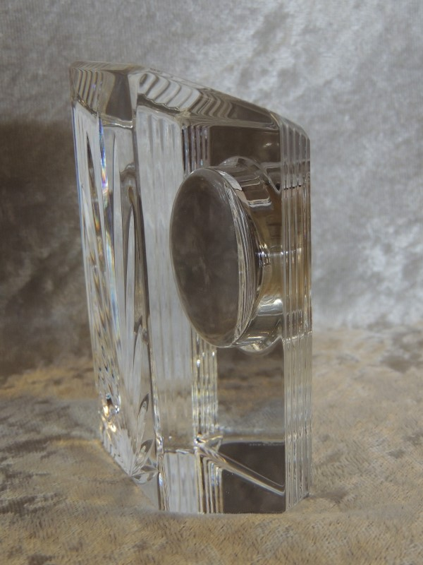 Waterford Crystal Colonnade Clock 5123110032 EUC Working New Battery