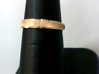Lady's Gold Wedding Band 10K Yellow Gold 1dwt Size:6