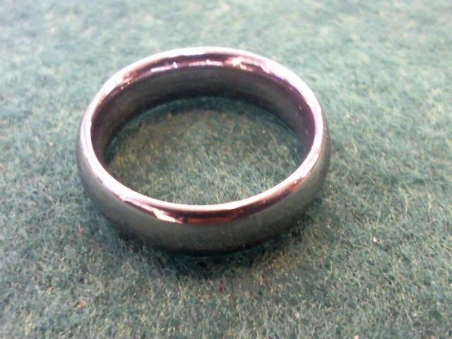 Gent's Ring Black Tungsten 9.9g